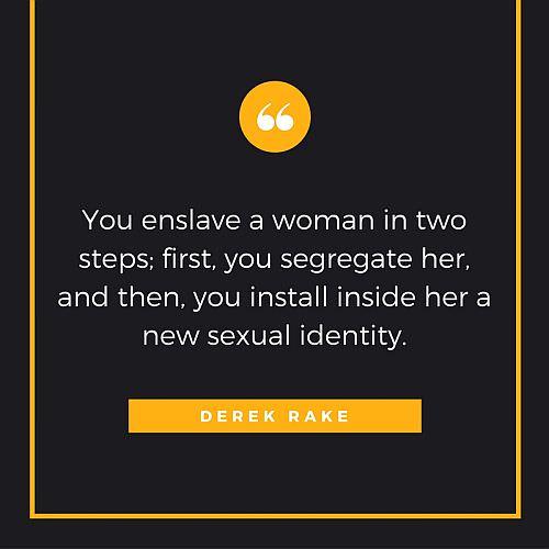 Derek Rake's quote on Enslavement